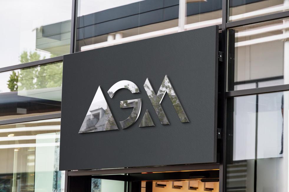 Asset Growth Marketing Office Sign