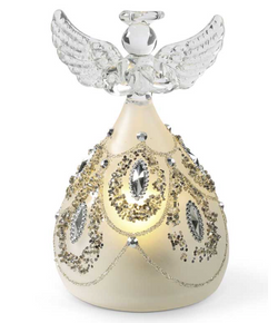 Angel with silver jewels