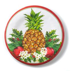 Christmas Pineapple Dinner Plate