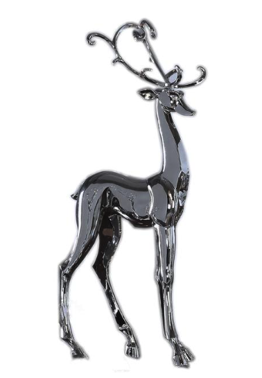 Metallic Standing Deer
