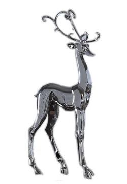 Metallic Standing Deer
