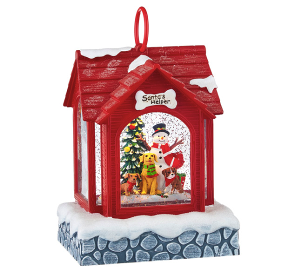 Santa's Helper Water Lantern