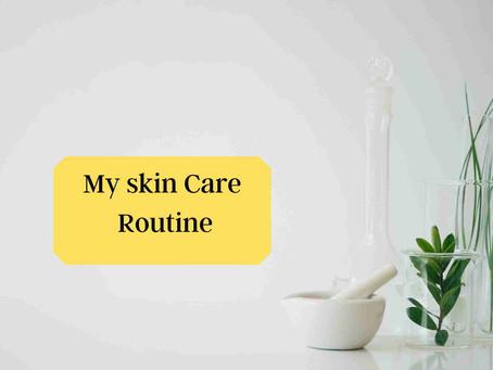 My skincare routine-