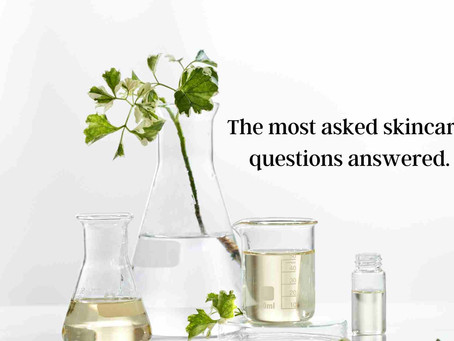 The most asked skincare questions answered.