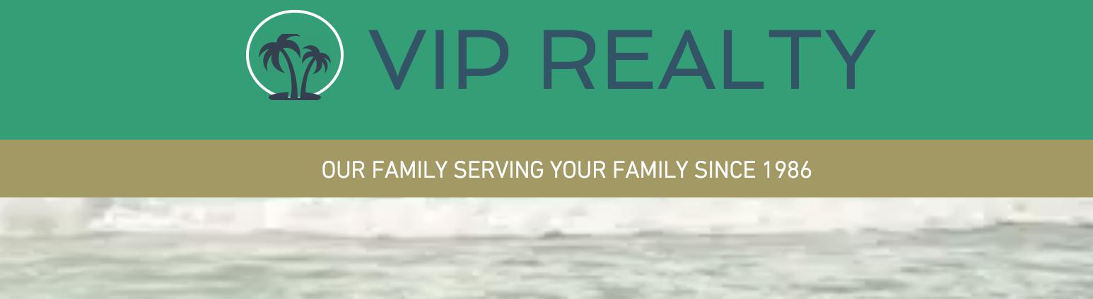 Web site for VIP realty Destin FL