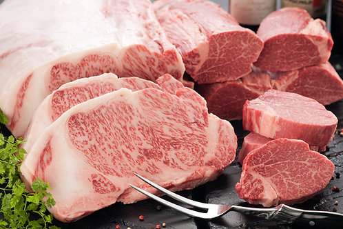 Whole A4/5 Kobe Beef Sirloin with Certificate (£232/kg)