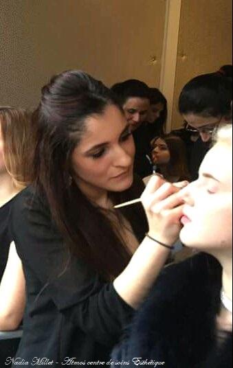 Make Up Event Model Star