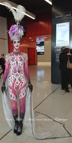 Baroque Body Painting
