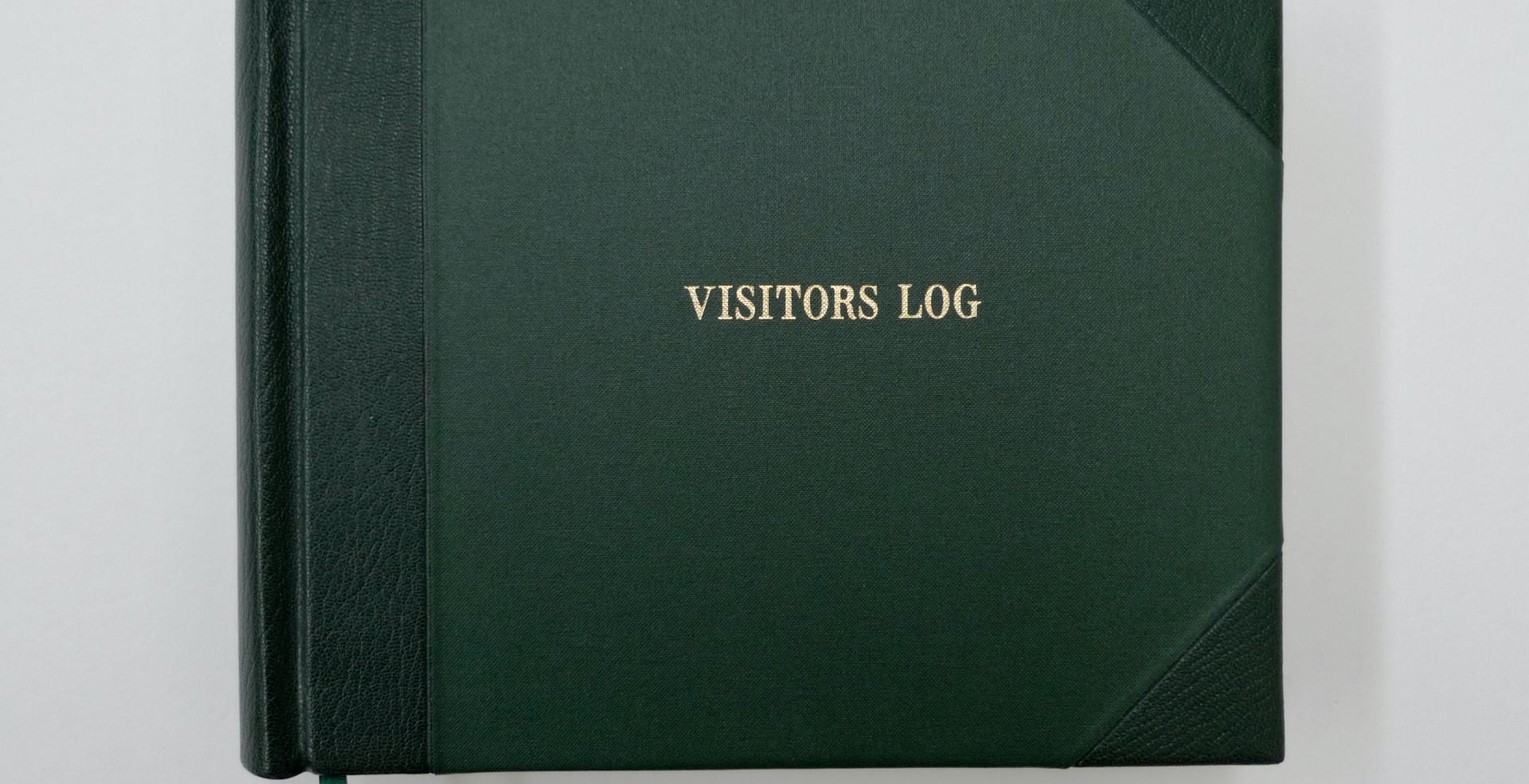 Visitors' Log