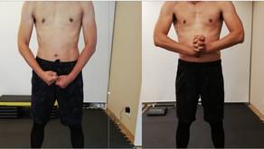 41歳:男性 トレーニング結果