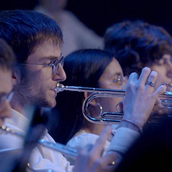 Jeunes symphonistes mosellans à l'Arsenal