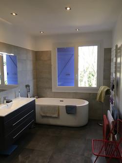 salle de bain à Grasse