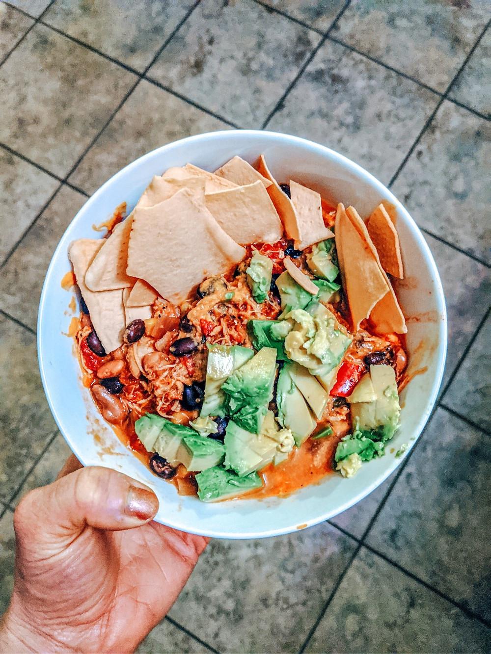 healthy recipe, simple recipe, eat clean, taco soup, chicken taco soup, healthy taco, healthy taco soup, healthy chili, instant pot healthy, clean eats, eat clean, healthy crock pot, whole 30, paleo, keto, healthy recipe,