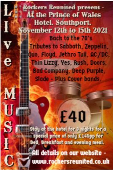 Southport November 2021 -Saturday only wristband