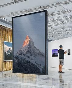 Gallery with MAtterhorn photos Exhibition
