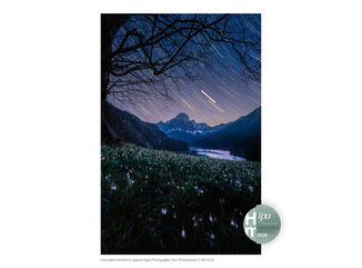 Obersee in the night