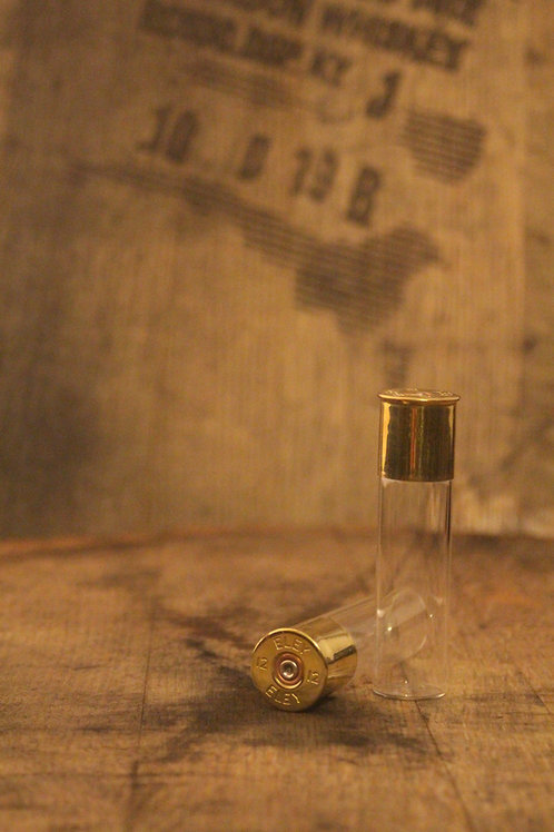 Eley shotgun cartridge glass dram bottle