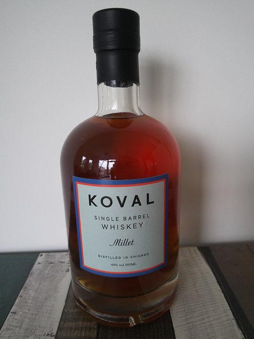 Koval Single Milet whiskey