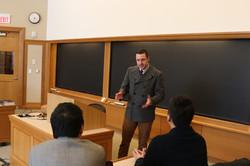 Prof. Michael Miner讲课