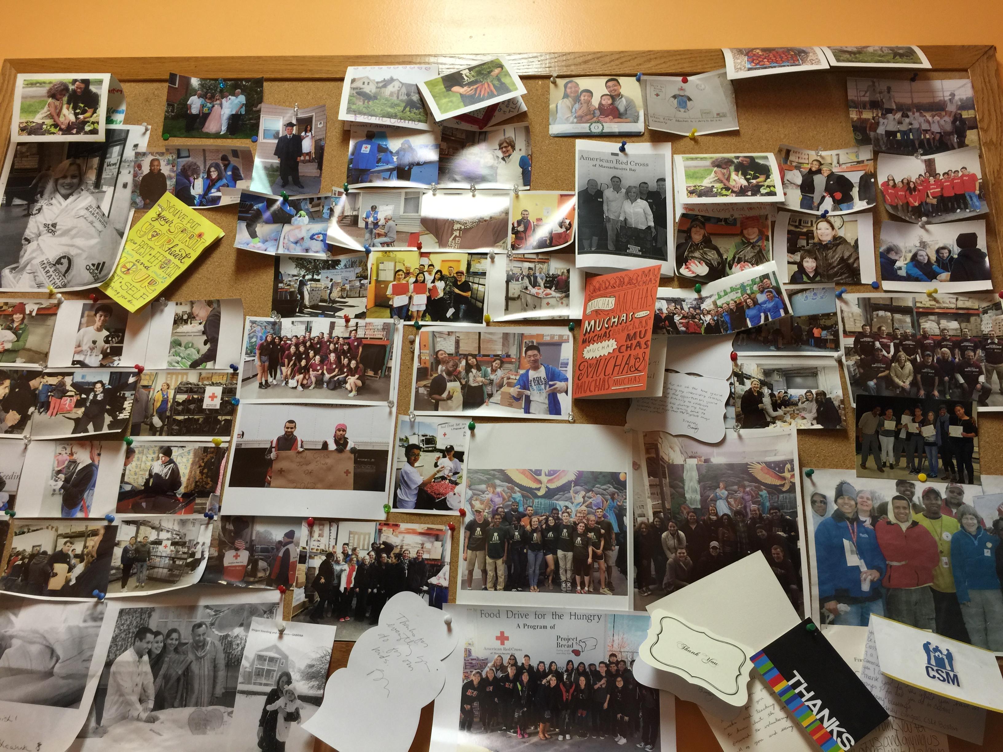 红十字会的post wall都是凯威的学生