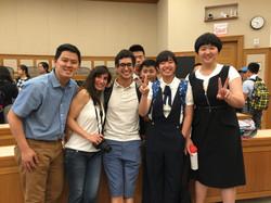 Kenny与Harvard/MIT Elite精英营的学员和TA合影