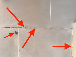 Tiling and natural stole surface defects