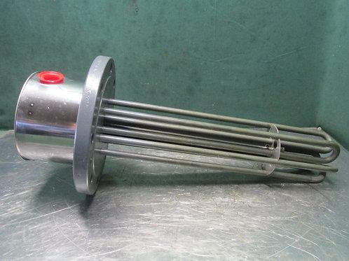 "Tempco TFP02708 Immersion Electric Heater 5"" Flange 12,000 Watt 480 Volt"