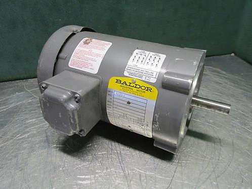 Baldor KM3454 Electric Motor 1/4 HP 230/460 Volt 1725 RPM 3 PH