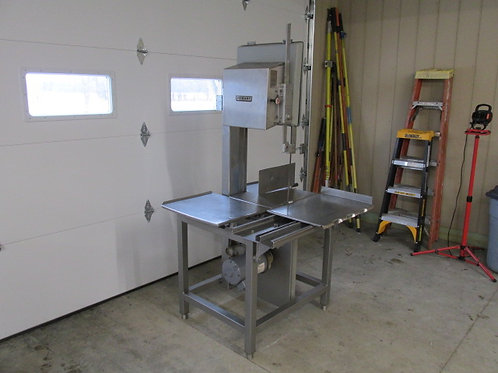 Hobart Model 5801 Commercial Stainless Steel Meat Band Saw New Blades 3 PH 3 HP