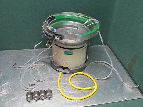 Piezo Bowl Feeder Type PEF-230AL VibratoryParts Feed Bowl