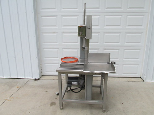 Hobart Model 6614 Commercial Stainless Steel Meat Band Saw New Blades 3 PH 3 HP