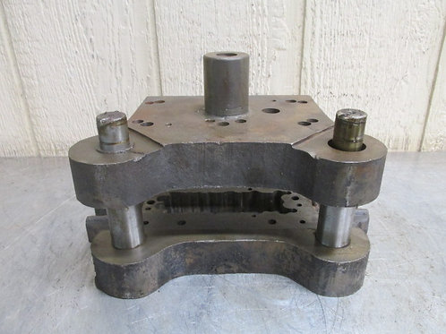 """Danly 0705 ?? Punch Press Precision Back Post Die Set 7"""" x 4-3/4"""""""