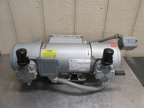Gast 8HDM-10-M853 Air Compressor Vacuum Pump Oilless 3 PH 230/460v 2 HP