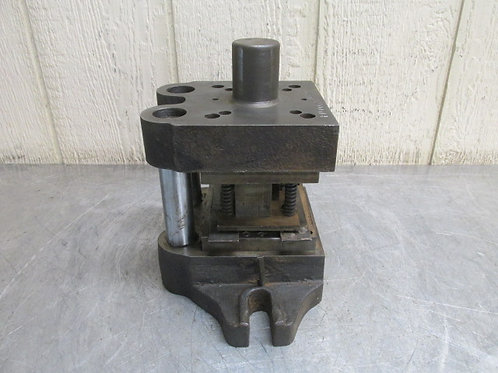 """Danly ?? Punch Press Precision Back Post Die Set 5-1/2"""" x 4-3/4"""""""