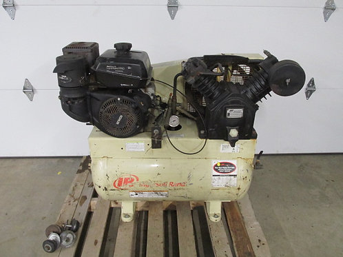 Ingersoll Rand T30 Gas Powered Portable Air Compressor 2 Stage Model 2475