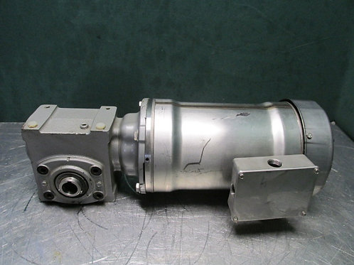 Bluffton Hydro-Duty 1311017123 Washdown Electric Motor Gearmotor 115 RPM 1 HP