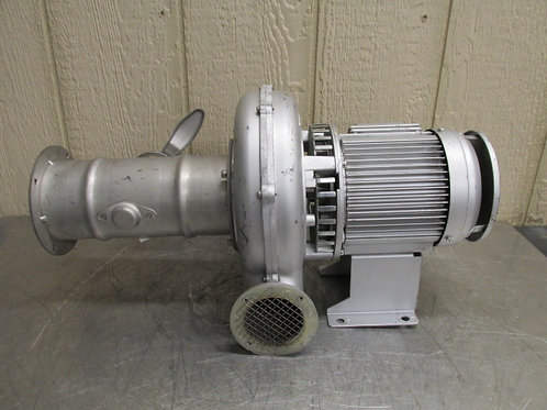 Showa Denki ME-EC-63T-R313 Explosion Proof Centrifugal Blower Fan 159-