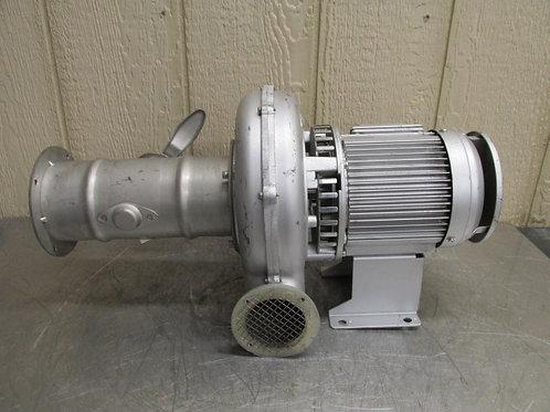Showa Denki ME-EC-63T-R313 Explosion Proof Centrifugal Blower Fan 159-
