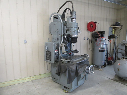 "Moore #3 Vertical Jig Grinder 24"" x 11"" Table Grinding Machine 220v 1 PH or 3 PH"