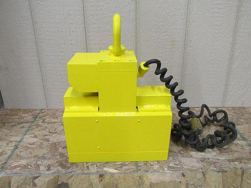1,500 Lbs Lifting Magnet Crane Hoist Lift Plate Lifter Rigging V-Plate 115v 1 PH