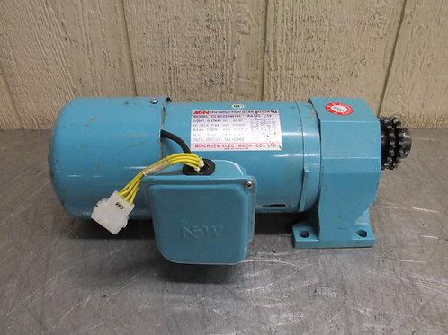 MCN Minchuen CLSK22040101 Gearmotor 1/2 HP 10:1 Ratio 115/230v 1 PH