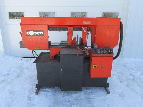"Cosen Model C-20SA Horizontal Pivot Mitre Metal Bandsaw Semi Automatic 24"" x 12"""