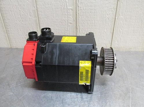Fanuc A06B-0143-B076 AC Servo Motor 2.8 kW 155v 3 PH 12/3000