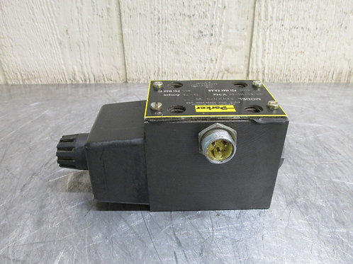 Parker D3W1KNYC Hydraulic Directional Control Valve 110/120v