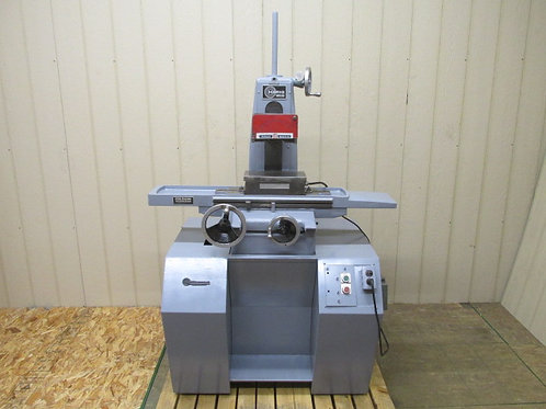 "Harig Super 618 Manual Surface Grinder 6"" x 12"" Magnetic Chuck 1 HP 3 PH 220v"
