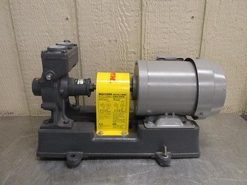 Nikuni Type 313 Self Priming Regenerative Turbine Pump Centrifugal 8 GPM .75 Kw