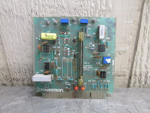 Powertron PN 100-3 Current Amplifier Board