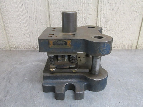 "Danly 0505-D1 Punch Press Precision Back Post Die Set Shoe 5"" x 5"""