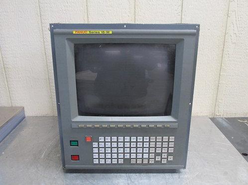 Fanuc A61L-0001-0094 CRT Operator Panel Display Monitor Interface Series 15-M