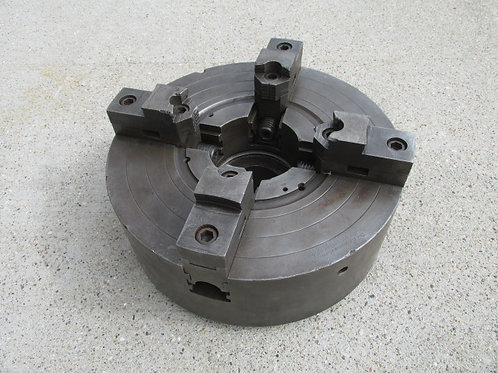 """D.E. Whiton 15"""" Metal Lathe Chuck 4 Jaw Independent Self Centering 5.5"""" x 8 TPI"""